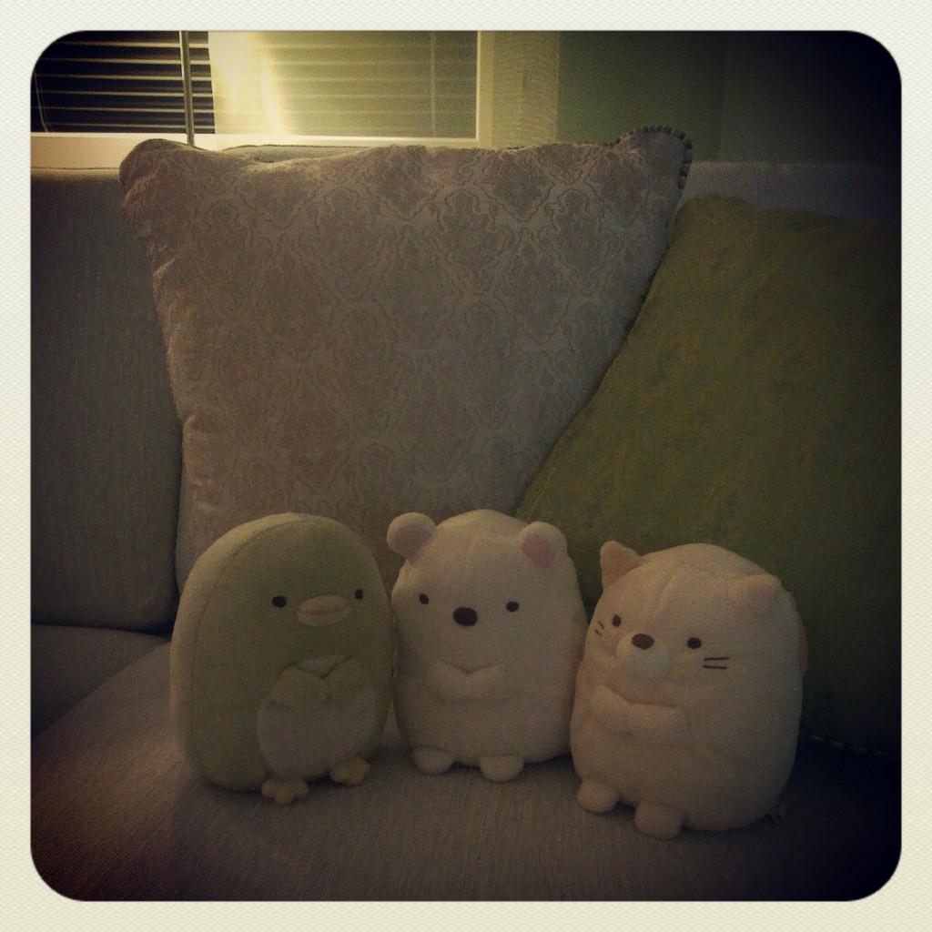 Myspys i soffan.
